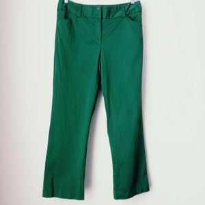 Talbots | Green Casual Pants Sz 12